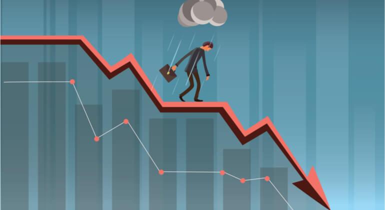 O que fazer em tempos de crise financeira? (Foto: internet)